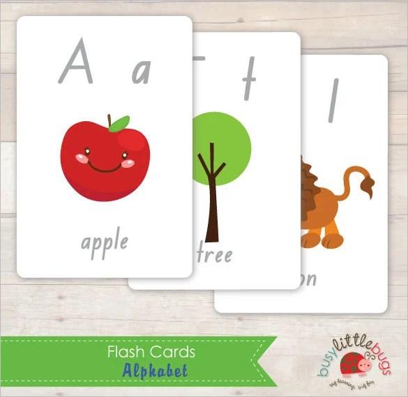 15+ Amazing Flash Card Design Templates Free \ Premium Templates - flash card template