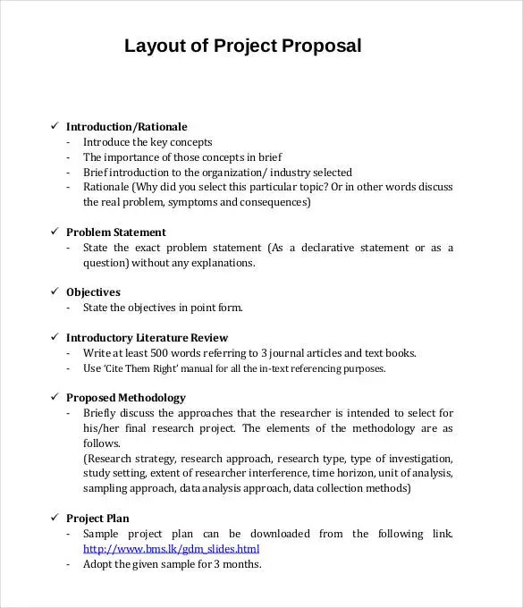 project plan proposal template - Goalgoodwinmetals