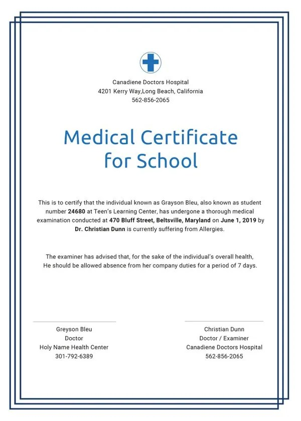 School Certificate Template - 23+ Free Word, PSD Format Download - school certificate templates
