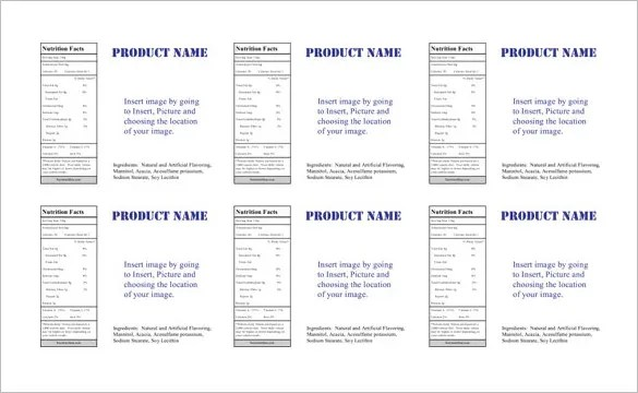 23+ Microsoft Label Templates - Free Word, Excel Documents Download - Microsoft Word Templates Labels
