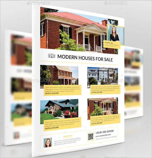20+ Stylish House for Sale Flyer Templates  Designs Free - home for sale brochure