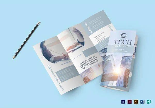 free real estate brochure template