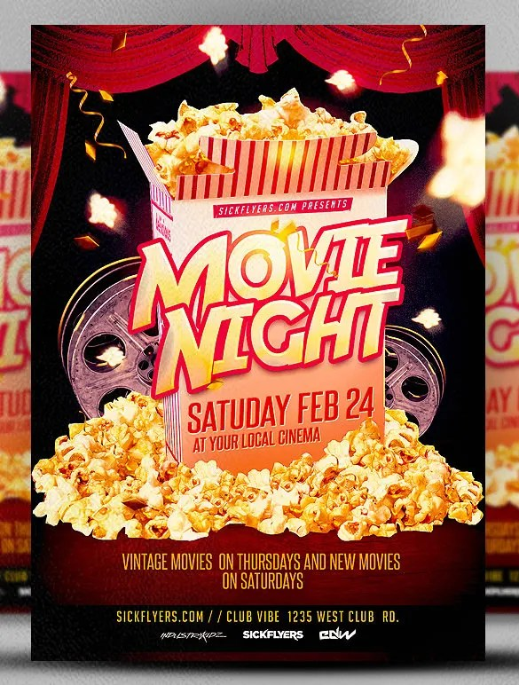 free event flyer template word