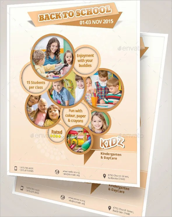 Daycare Flyer Template - 15+ Free PSD, AI, Vector EPS Format