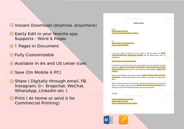 21+ Sample Eviction Notice Templates - DOC, PDF Free  Premium