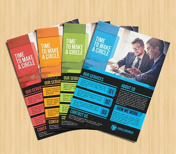 informative flyer templates - Deanroutechoice