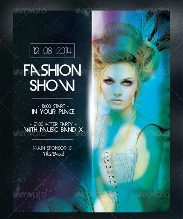 24 + Fashion Flyer PSD Templates  Designs! Free  Premium Templates