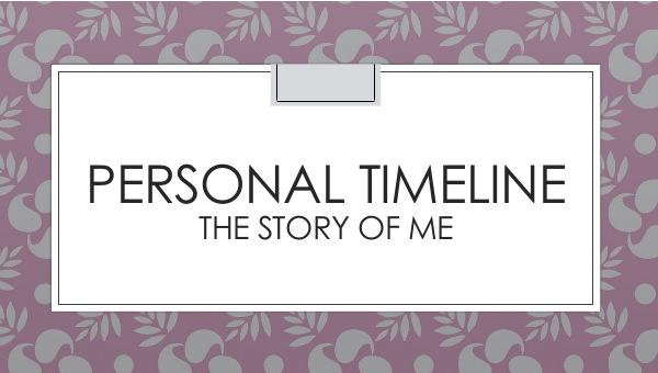 18+ Personal Timeline Templates - DOC, PDF Free  Premium Templates