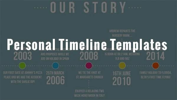 8+ Personal Timeline Templates - DOC, PPT, PSD Free  Premium