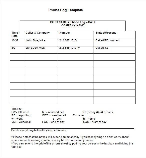 21+ Phone Message Templates - PDF, DOC Free  Premium Templates - phone message log template