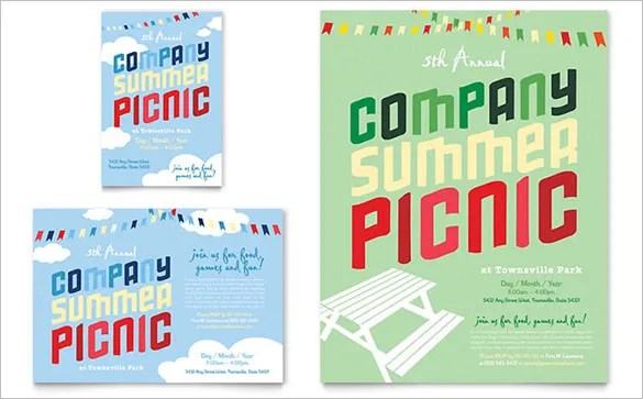 picnic flyer template free - Flyer Outline