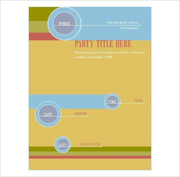 35+ Publisher Flyer Templates  PSD Designs! Free  Premium Templates