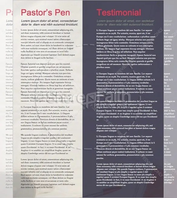Best Church Newsletter Template - 10+ Free Sample, Example Format - church newsletter