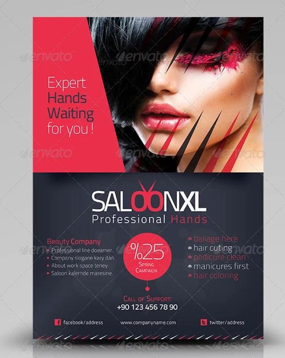 71+ Beauty Salon Flyer Templates - Free PSD, EPS, AI, Illustrator