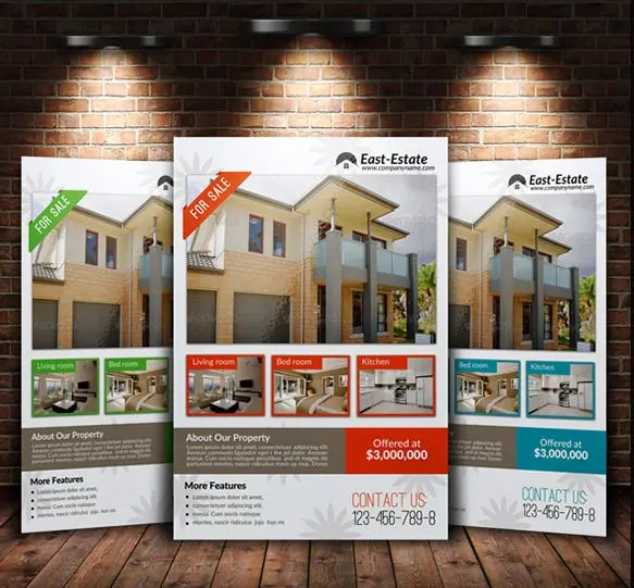 20+ Stylish House for Sale Flyer Templates  Designs Free - home sale flyer template