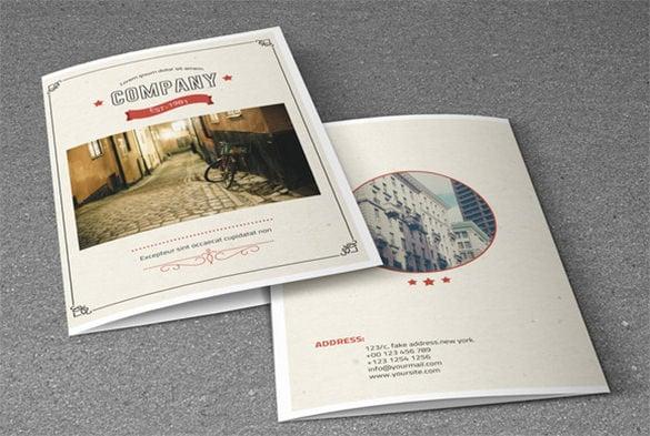 Retro Brochure Template Retro Flyer Templates V Retro Style Flyer - retro brochure template