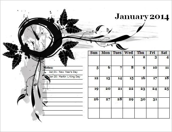 40+ Microsoft Calendar Templates - Free Word, Excel Documents Free