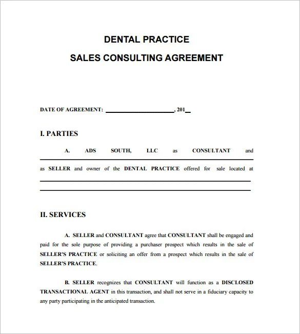 Doc585730 Sample Consulting Contract Template 6 Consulting – Business Consulting Agreements
