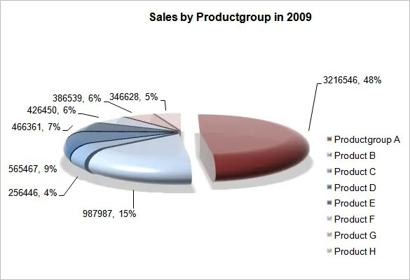 Pie Chart Template - 13+ Free Word, Excel, PDF Format Download - pie chart templates