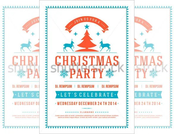 holiday flyer template free - Ozilalmanoof