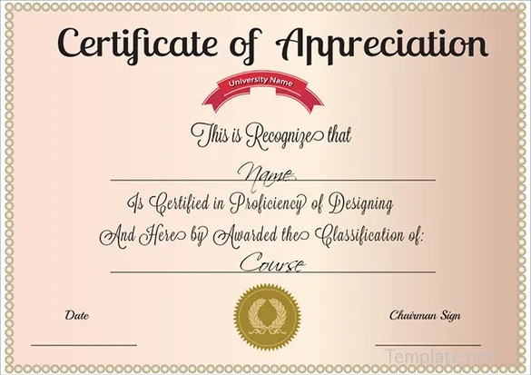 recognition certificate templates appreciation trattorialeondoro - Examples Of Certificates Of Recognition