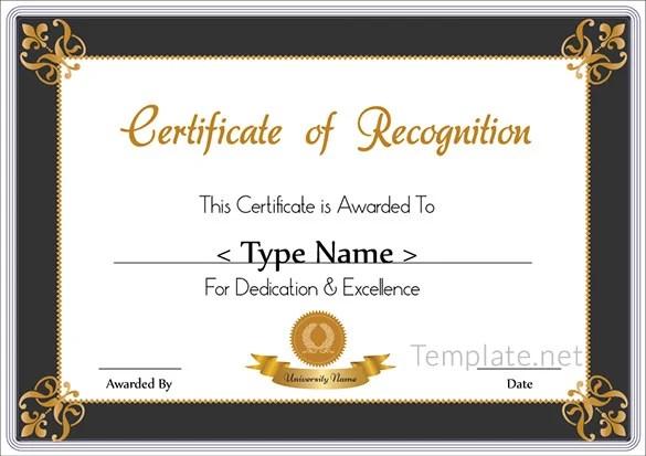 sample appreciation certificates templates yglesiazssa
