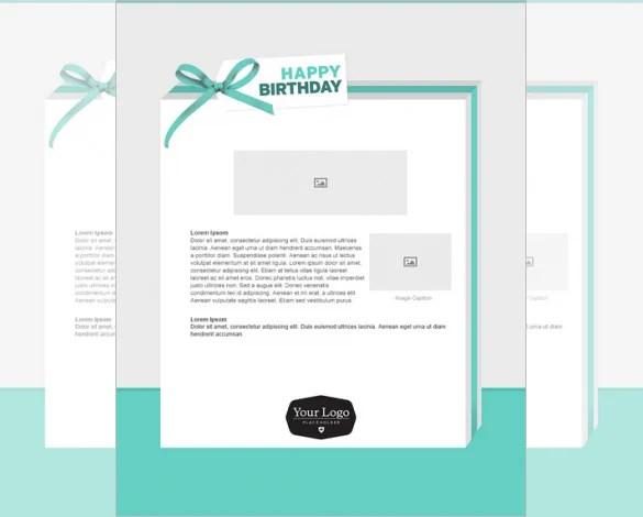 birthday email template - Ozilalmanoof - sample happy birthday email
