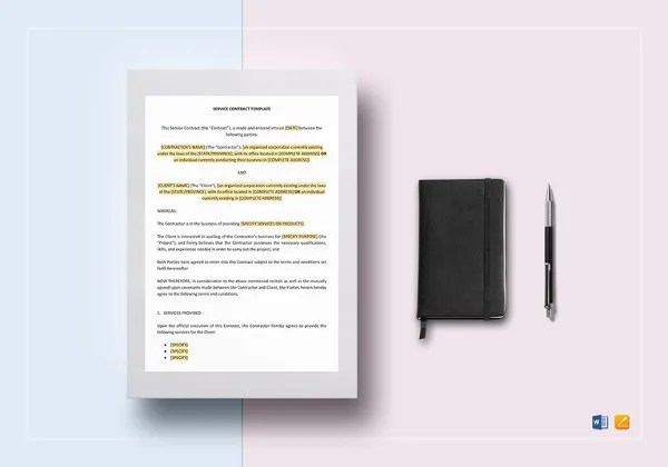 8+ Interior Designer Contract Templates - Free Word, PDF Documents
