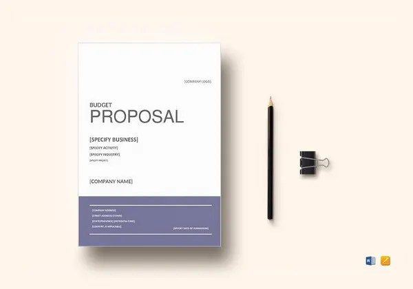 Cost Proposal Template - 18+ Free Word, PDF Format Download Free