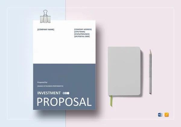 Bid Proposal Templates - 19+ Free Word, Excel, PDF Documents - bid proposal template word