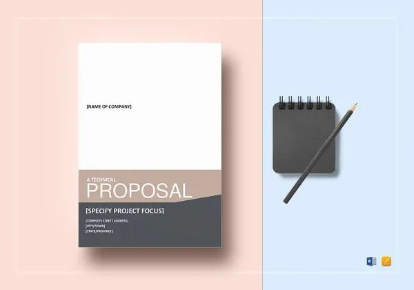Technical Proposal Templates - 21+ Free Sample, Example, Format