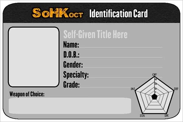 29+ ID Card Templates - PSD Free  Premium Templates