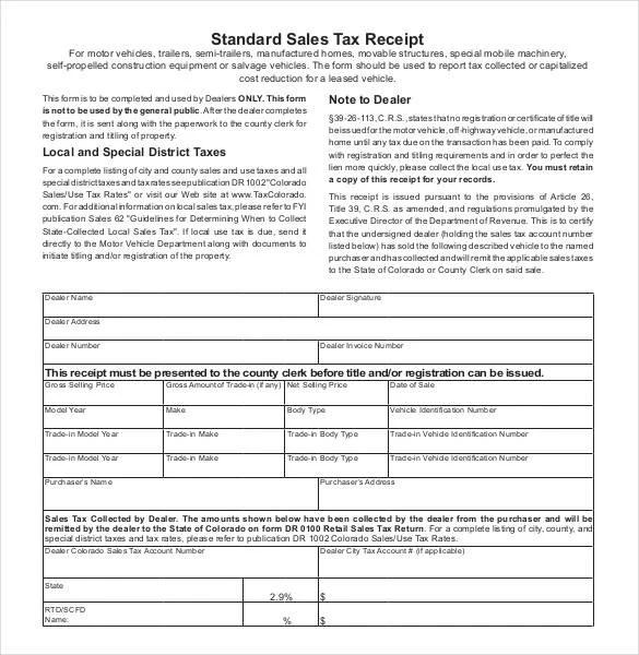 29+ Sales Receipt Templates - DOC, Excel, PDF Free  Premium Templates