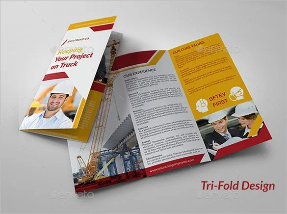 17+ Top Construction Company Brochure Templates Free  Premium