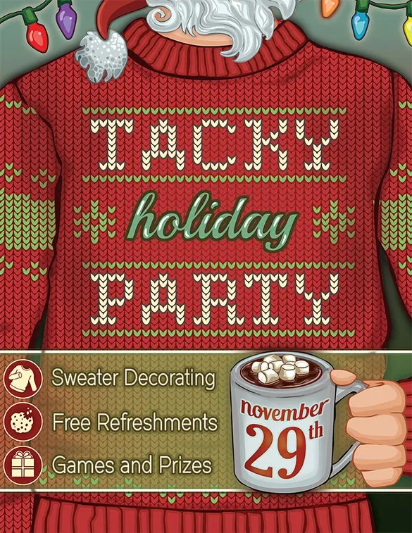 Christmas Party Ticket Template – Christmas Party Tickets Templates