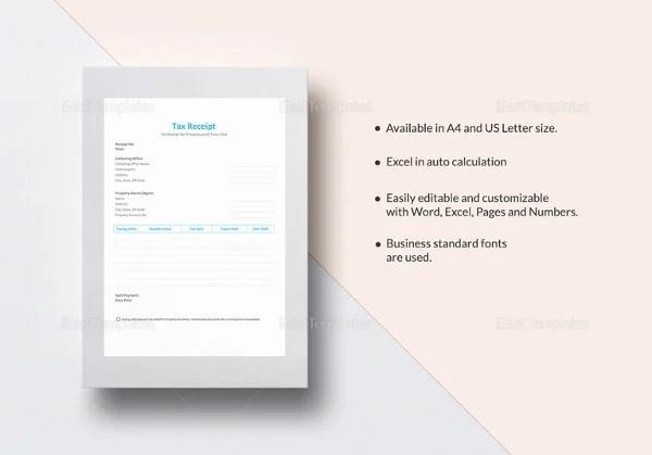 30+ Money Receipt Templates - DOC, PDF Free  Premium Templates