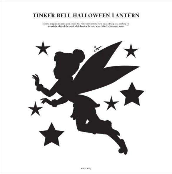 16+ Printable Tinkerbell Pumpkin Templates  Designs! Free