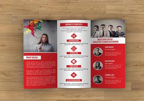 17+ Awsome Brochure Sizes And PSD Design Examples Free  Premium