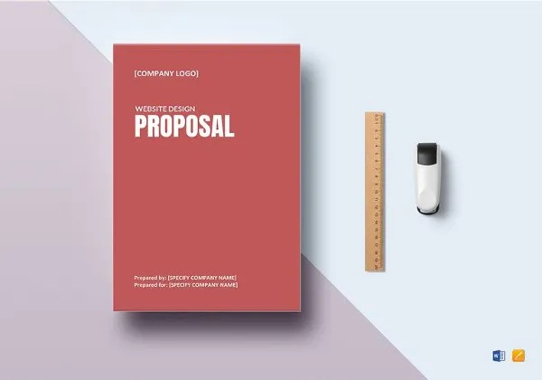 Design Proposal Templates u2013 17+ Free Word, Excel, PDF Format - website proposal template