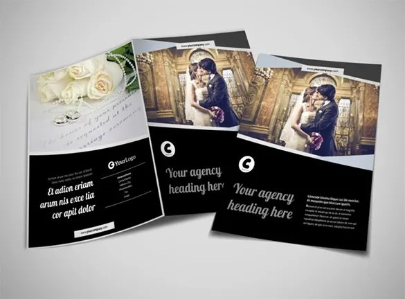 Video Brochure Template Vector Vertical Banner Or Flyer Template - video brochure template