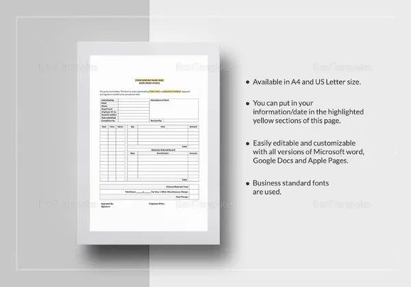 Microsoft Invoice Template - 53+ Free Word, Excel, PDF Free - microsoft word legal template