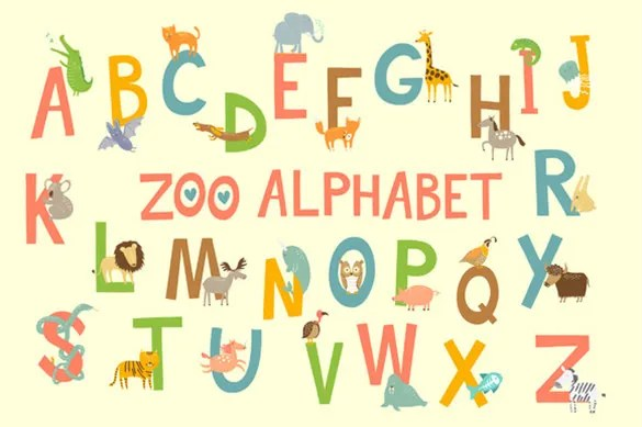 alphabet design letters free - Kendicharlasmotivacionales