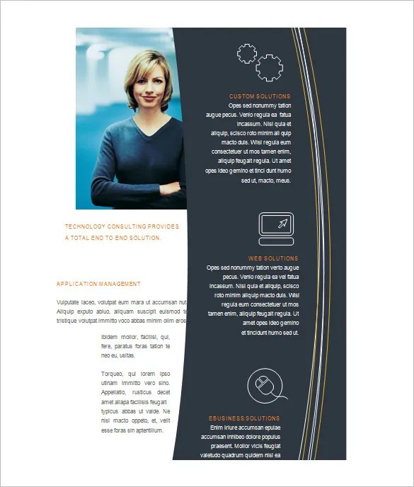 Microsoft Brochure Template - 42+ Free Word, PDF, PPT, Publisher - microsoft templates for flyers