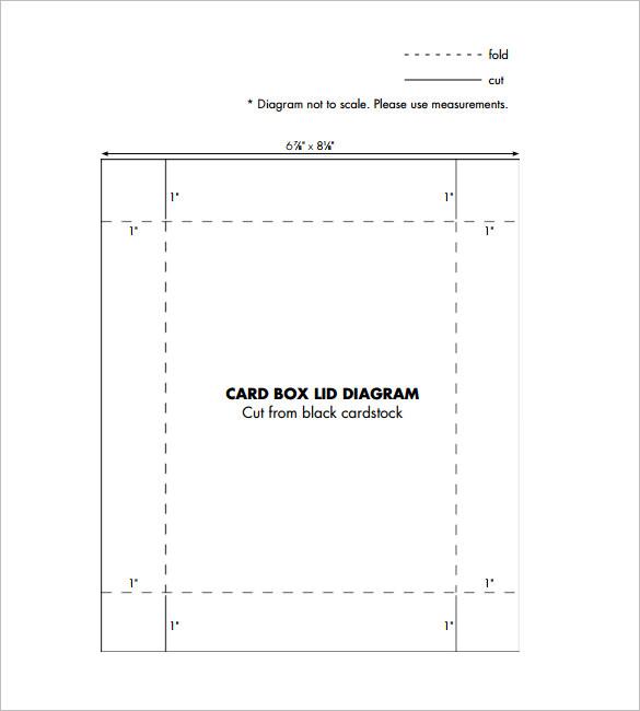 17+ Gift Box Templates \u2013 Free Word, PDF  PSD Documents Download - gift box template free