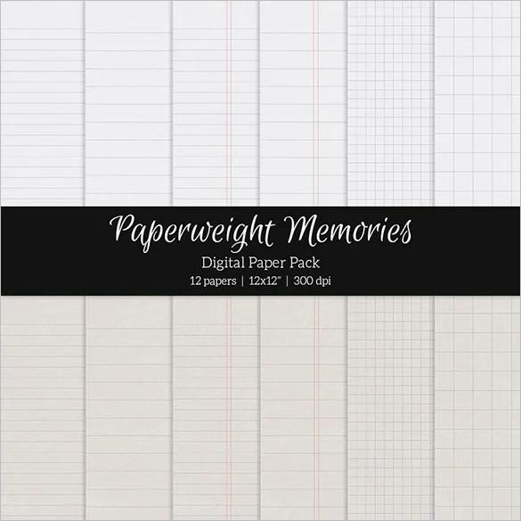 10+ Notebook Paper Templates - EPS, PDF Free  Premium Templates