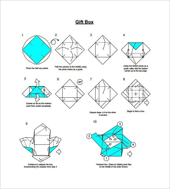 17+ Gift Box Templates \u2013 Free Word, PDF  PSD Documents Download