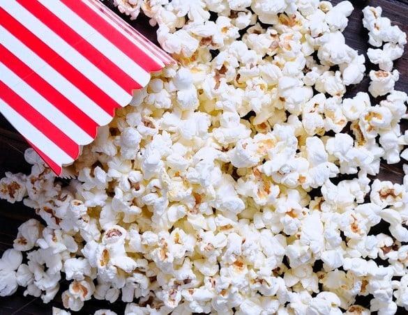 free popcorn template
