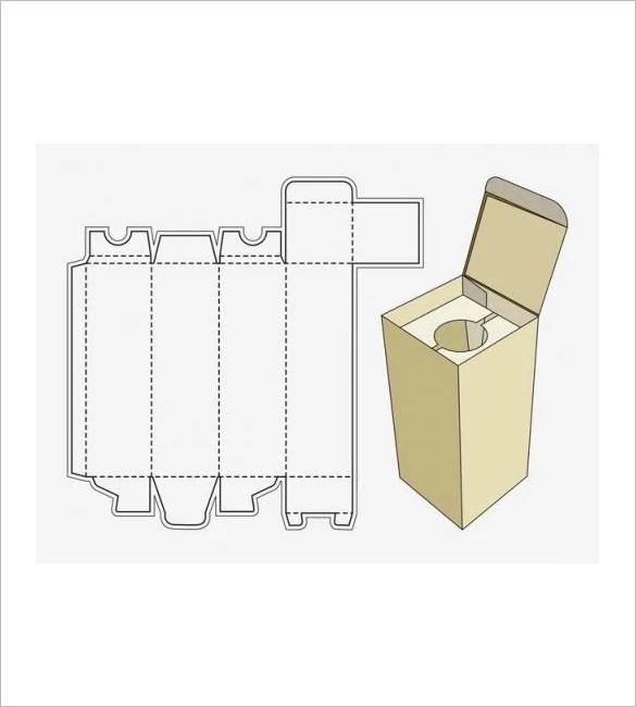 rectangle box template printable - Canasbergdorfbib