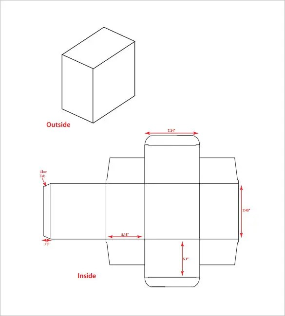 10+ Best Rectangular Box Templates  Designs Free  Premium Templates