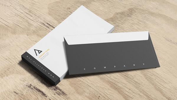 12+ Business Envelope Templates - PSD, EPS Free  Premium Templates